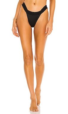 Norma Kamali KAMALIKULTURE Banded Bottom in Black