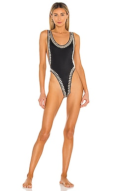 Stud Marissa Swimsuit Norma Kamali $575 BEST SELLER