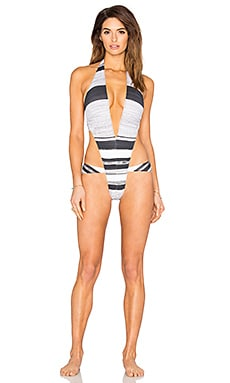 Andy One Piece in Writing Stripe