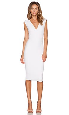 Nookie Turlington Bodycon Dress in White
