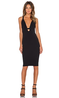 Nookie Eva Bodycon Dress in Black