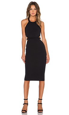 Nookie Crawford Bodycon Dress in Black