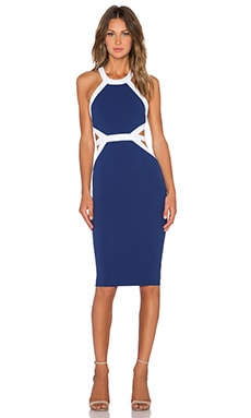 Nookie Crawford Bodycon Dress in Navy
