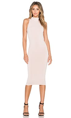 Nookie Senorita Halter Dress in Nude