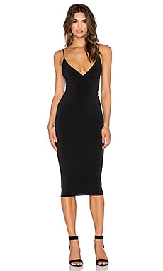 Ti Amo Shift Dress in Black