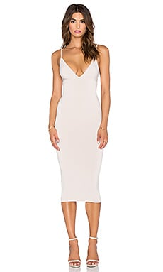 Nookie Ti Amo Bodycon Dress in Nude