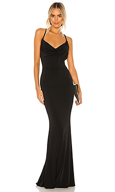 The Hustle Maxi Dress in Black
