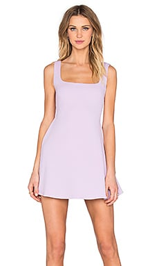 Nookie Sweet Sensation Skater Dress in Lilac
