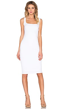 Sweet Sensation Bodycon Dress in White