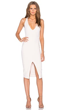 Kennedy Halter Dress in Nude