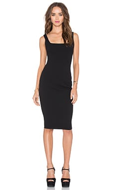Sweet Sensation Bodycon Dress in Black