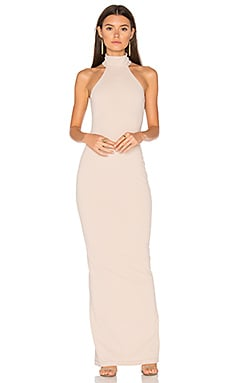 Basic Instinct Gown in Nude