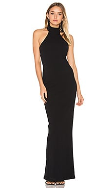 Basic Instinct Gown in Black