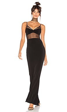 Hypnotize Gown in Black