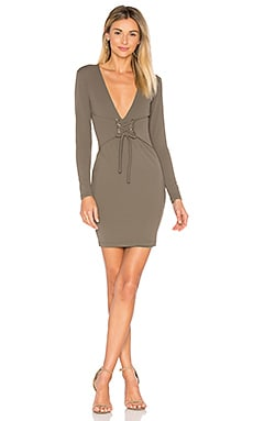 Madison Mini Dress in Khaki