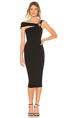Alchemy Off Shoulder Midi Dress Nookie $239 NEW ARRIVAL
