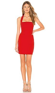 Фото - Мини платье boulevard - Nookie красного цвета
