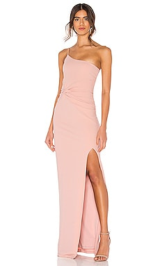 VESTIDO LARGO LUST ONE SHOULDER Nookie $289