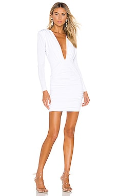 Temptation Long Sleeve Mini Dress Nookie $209