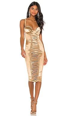 Tease Satin Midi Dress Nookie $269