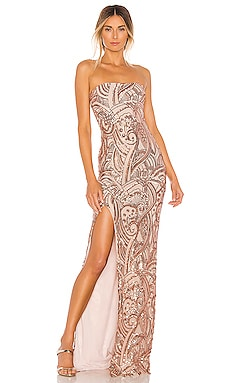 Sensational Sequin Gown Nookie $379