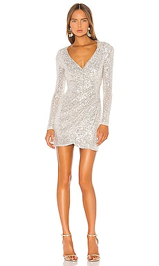 Fantasy Long Sleeve Mini Dress Nookie $329