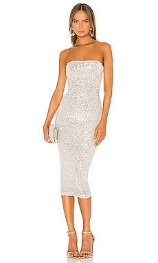 Fantasy Midi Dress Nookie $339