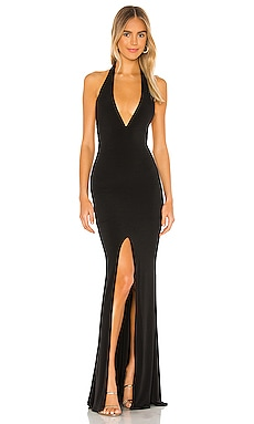 x REVOLVE Illegal Halter Gown Nookie $249 BEST SELLER