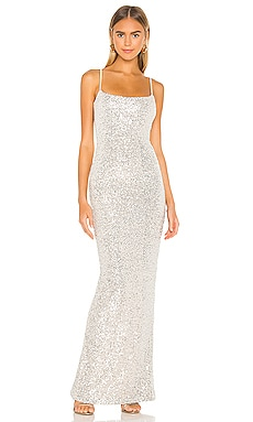 Lovers Nothings Sequin Gown Nookie $369