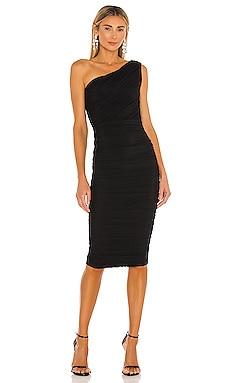 X REVOLVE Inspire One Shoulder Midi Dress Nookie $299 BEST SELLER