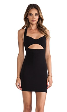 Nookie Miss Monroe Bodycon Dress in Black
