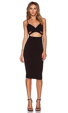 Nookie Heidi Bodycon Dress in Black