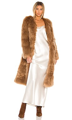 Tatiana Faux Fur Long Jacket Nookie $379