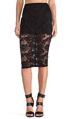 Renegade Lace Pencil Skirt