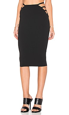 Candice Pencil Skirt in Black