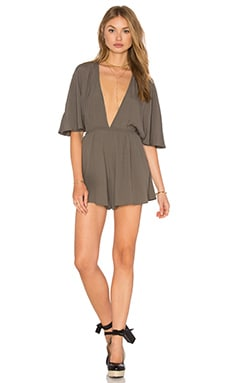 Nookie Elements Romper in Olive
