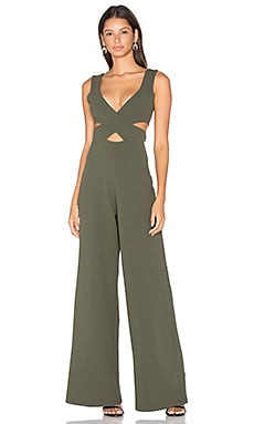 Nookie Rendezvous Jumpsuit in Olive