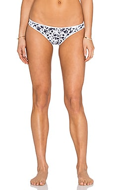 Nookie Riptide Bikini Bottom in Black & White