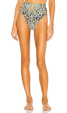 Brasilia High Waisted Bikini Bottom Nookie $56
