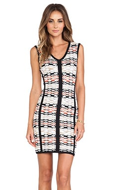 Nanette Lepore Fierce Sheath Dress in Papaya