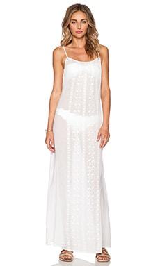 Nanette Lepore Calcutta Maxi Dress in White