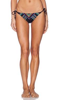 Nanette Lepore Carmenita Vamp Bikini Bottom in Black