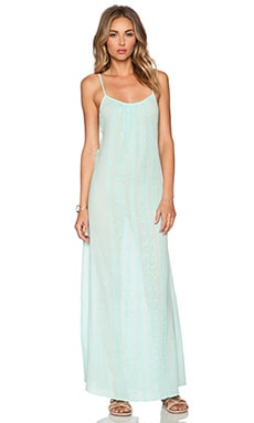 Nanette Lepore Calcutta Maxi Dress in Seafoam