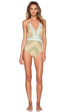Nanette Lepore Paso Robles Goddess Swimsuit in Multi