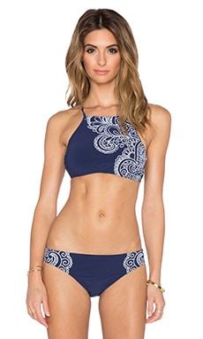 Nanette Lepore Henna Stargazer Bikini Top in Indigo