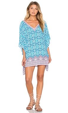 Seaside Tile Caftan in Multi