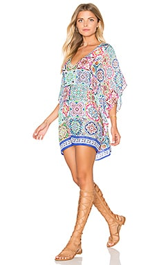Nanette Lepore Greek Tiles Caftan in Multi