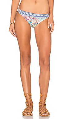 Greek Tiles Charmer Bikini Bottom in Multi