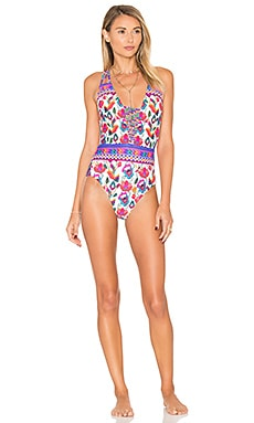 Antigua Goddess One Piece in Multi