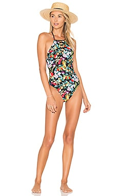 Amor Atitlan Seductress One Piece in Multi